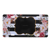 Wholesale Hot Sale Monogrammed Floral License Plate