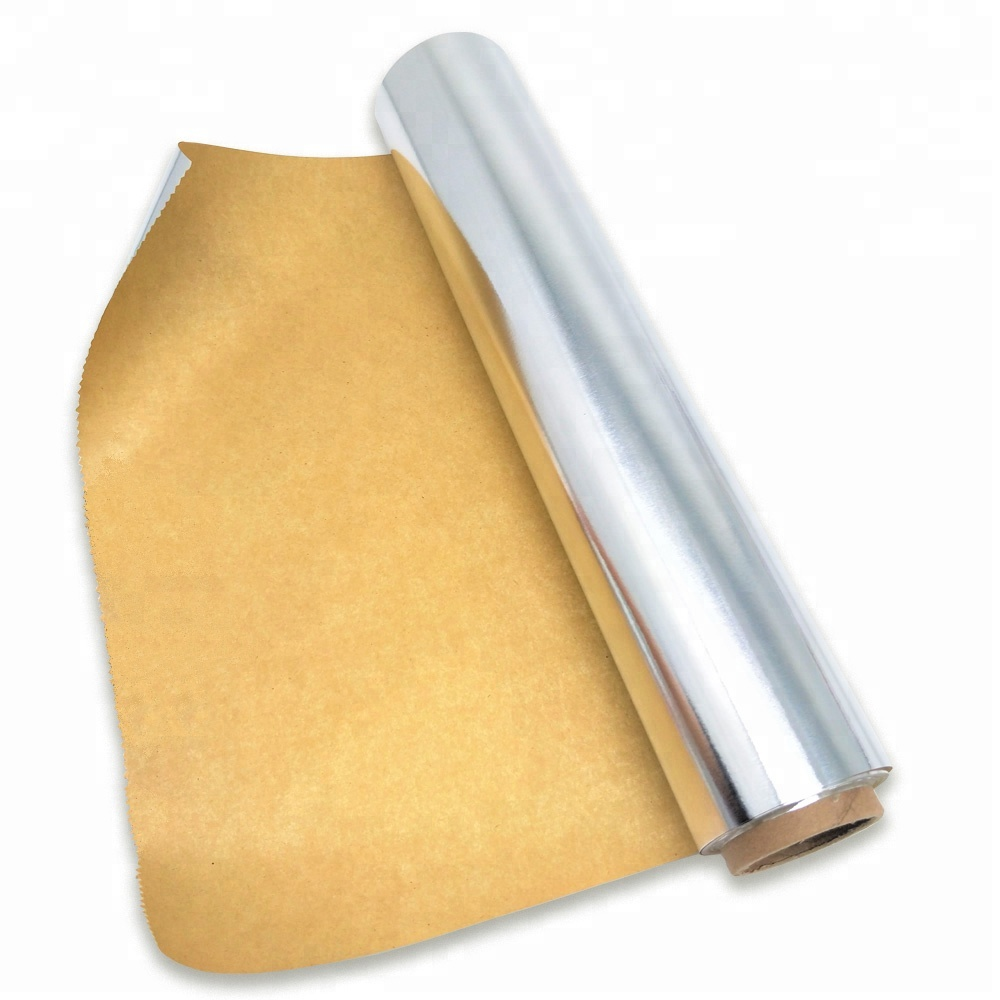 Non-stick Baking Greaseproof Parchment Aluminum Foil Lined Oneside Coating <strong>Paper</strong>