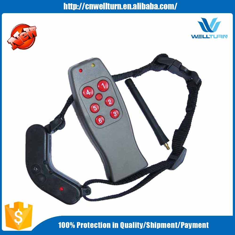Eco-Friendly Feature and Pet Training Products Type Remote Control Retractable Collar for pet Training WT719