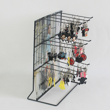 Oem Design Metal Wire Shelf Counter