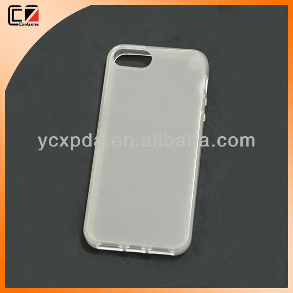 White TPU case For iphone 5s for case iphones 5s