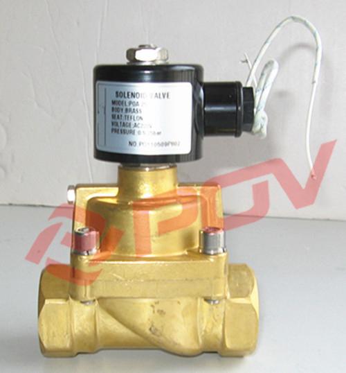 Valvula solenoide para gas