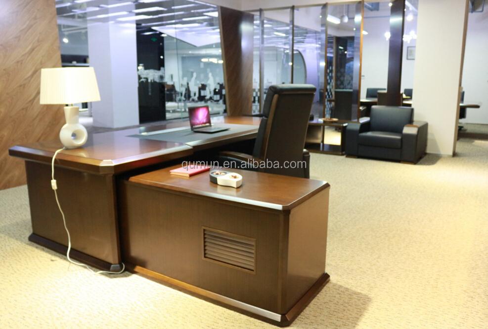 Gros bureau grand bureau exécutif haut de gamme bureau mobilier de