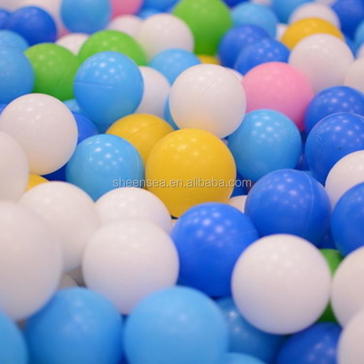 Ldpe 38mm White Plastic Ball Pit Balls For Kids