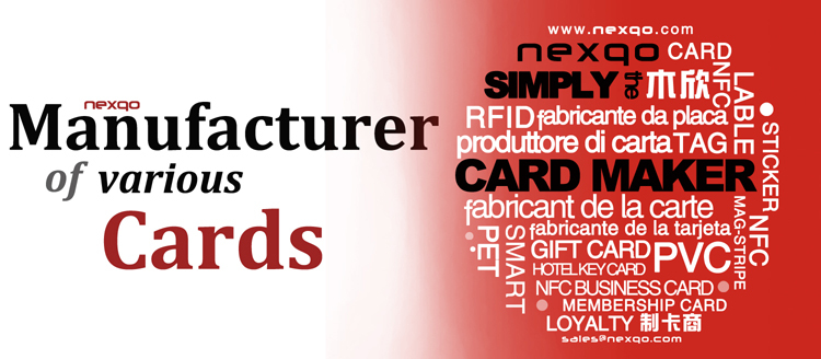 Retail/Wholesale PVC Plastic Loyalty Card