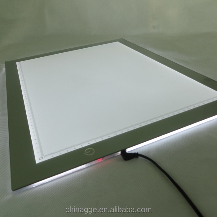 Elegant LED Dimmable Tracing Drawing Tattoo Copy Board Slim Tattoo Trace Light Table