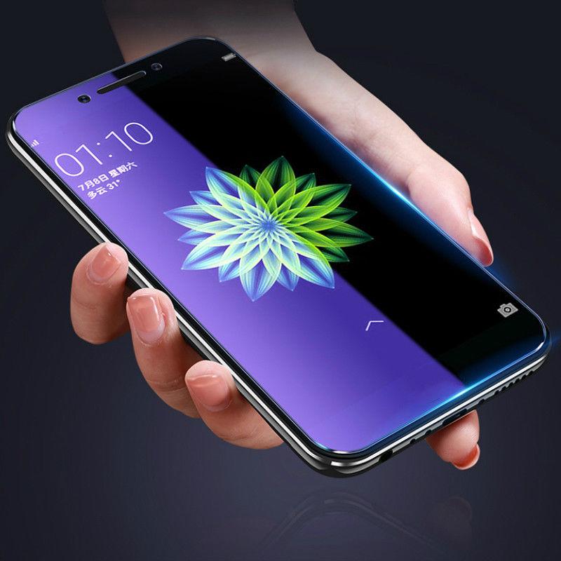 0.3mm 3D 5D 6D 9D Anti mavi Antifingerprint Işık Temperli Cam Ekran Koruyucu Için Cep Telefonu