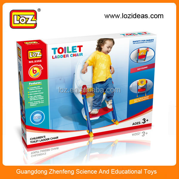 Baby Toilet Trainer Chair Seat Toddler Potty With Step Up