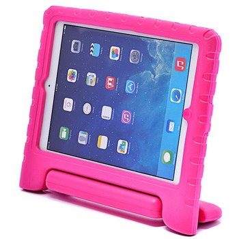A113 Kidbox Shock Proof Soft Handle Stand Foam Rugged Case For Ipad Air