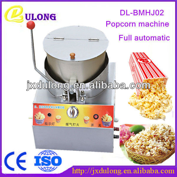 best sellers for 2013 stainless steel automatic home gas corn pop snack machine