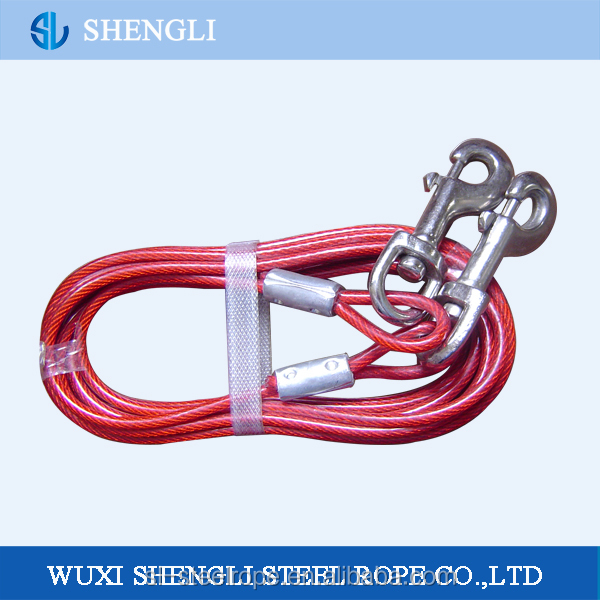 Coated Steel Dog Tie Out Cable