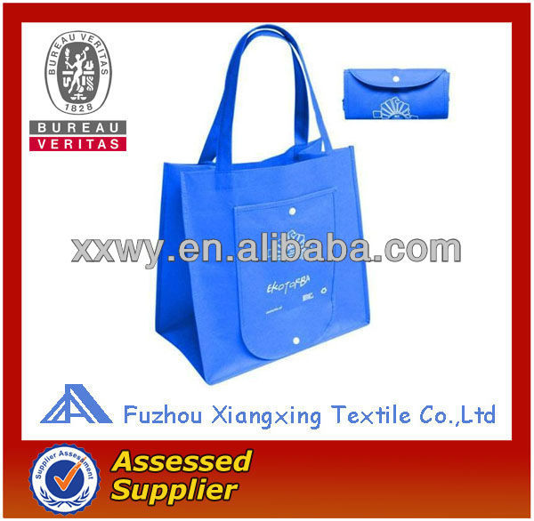 Eco-Friendly custom fashion cheap folding non woven shopping cart bag