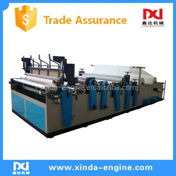 China Made Toilet Paper Machine,Bath Tissue Paper Machine China ...