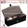 High quality Pu leather wine box