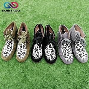 ab986520009 Wholesale Women Leopard-print Fringe Shoes
