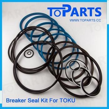 Toku Tnb-220lu Hydraulic Breaker Seal Kit Tnb 220lu Hydraulic ...