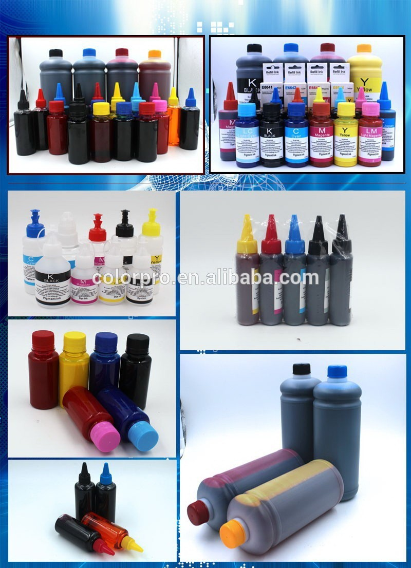 Water Based Dye Ink For Epson Stylus Photo L801 L800 L805 L850 ...
