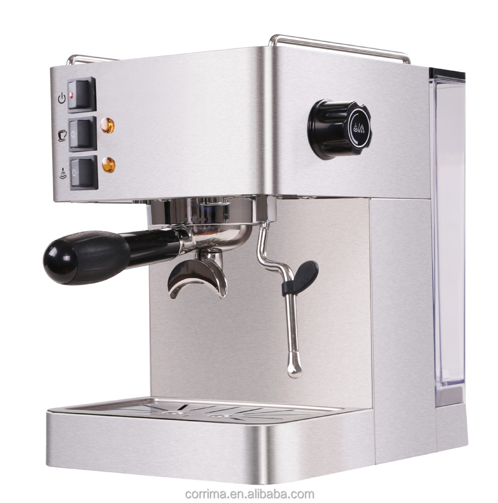 GS /CE certificate semi automatic coffee machines espresso /cappuccino coffee maker