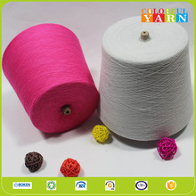 India organic combed cotton yarn dyed for wholesale