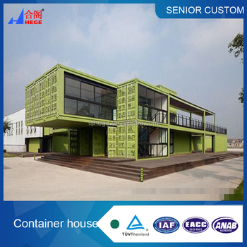 Modern container homes, used as prefab movable homes, container office or  accommodation