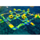 inflatable floating water park Inflatable Aqua Park Water Park Obstacle Course