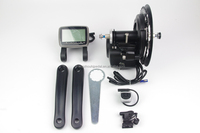 Wholesale cheap 48V 500W tsdz2 mid drive motor e bike kit with torque sensor function