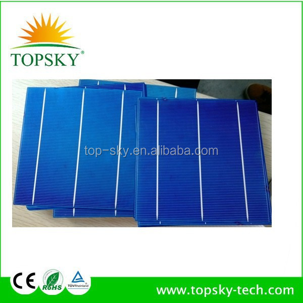wholesale 3bb/4bb polycrystalline/monocrystalline/pv/silicon solar cell price made in Taiwan