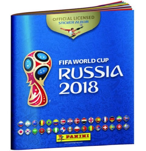 39b41ae95 Get Quotations · Panini FIFA World Cup Russia 2018 Soccer Sticker ALBUM  with 10 stickers
