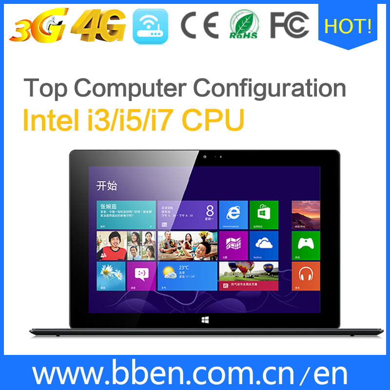 11.6 inch windows 10 OS tablet pc Intel quad core IPS screen 3G 4G 1366*768 resolution 32G SSD dual camera tablet pc
