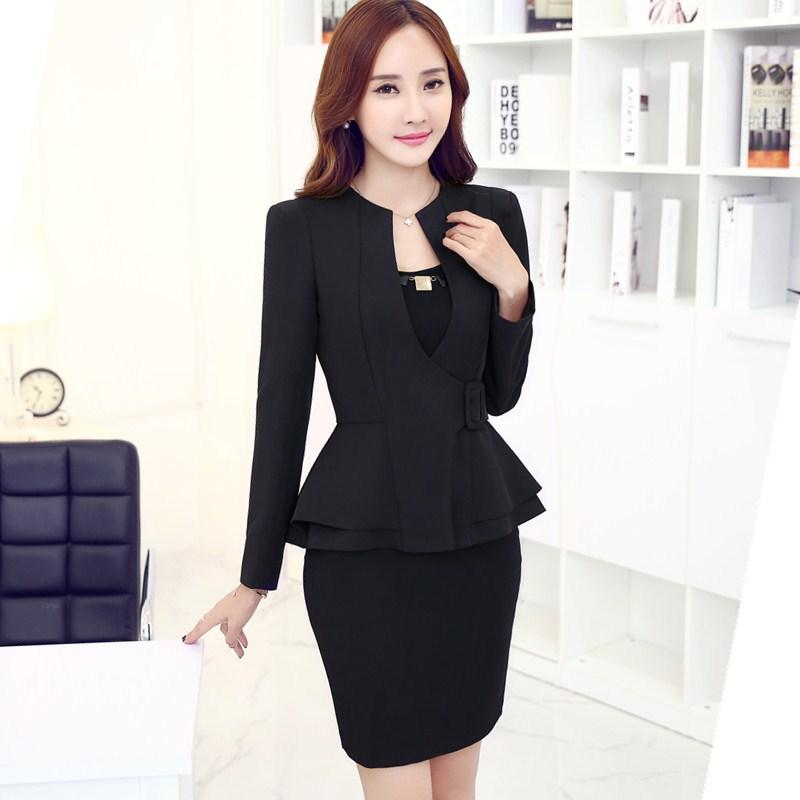 Womens Skirt Suit Sets Dress Yy