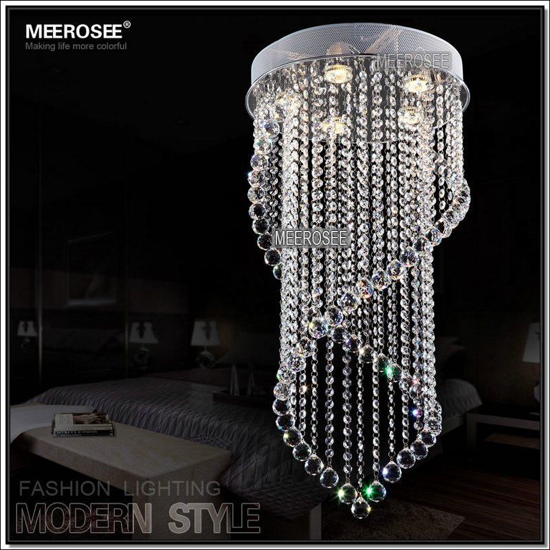 Home Led Round Crystal Ceiling Light For Dining Room,Stair Md6874 ...