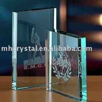 crystal glass awards trophies MH-3185