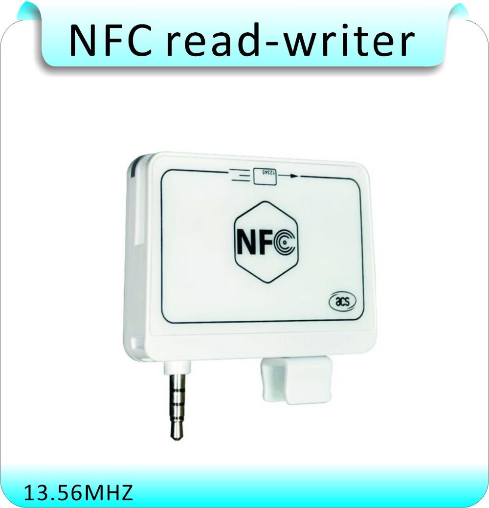 Купить Мини-35mm аудио Джек acr35 mobilemate смарт nfc rfid карт
