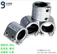 HDPE Pipe Fitting SUS304 clamp stainless steel STRAUB Grip Pipe Couplings