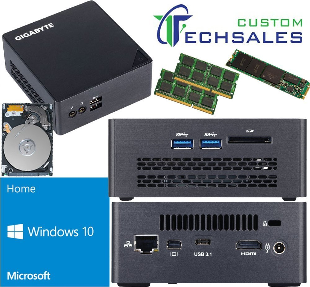 Get Quotations · Gigabyte BRIX s Ultra Compact Mini PC (Skylake)  BSi7HT-6500 i7 1TB M 4f8a966e1bc8