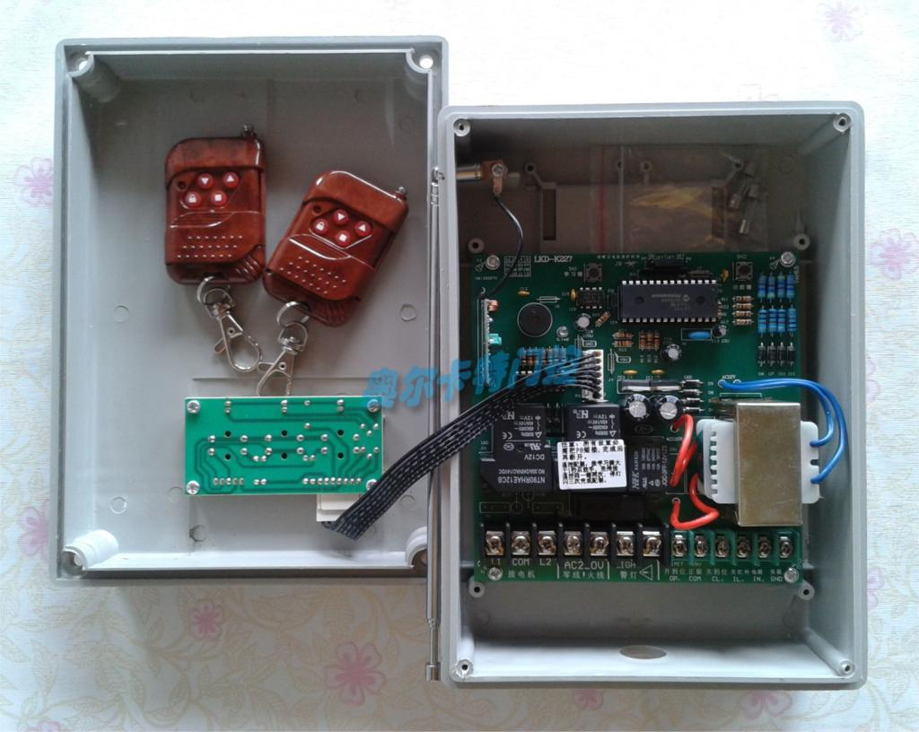 Digital Electric Gate Controller Retractable Door Control