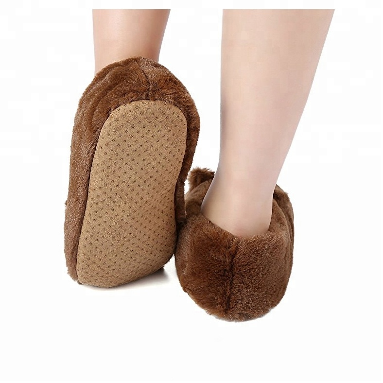 on ICE Indoor Home Slippers House Shoes New Warm Soft Dog Head Slipper YURI!!