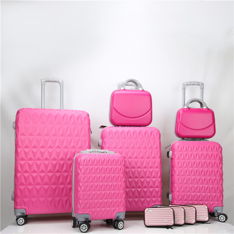 Fashion Hot Selling Polypropylene Maletas Aluminium Trolley Cases Bags Suitcases