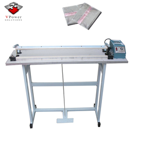 Guangzhou Factory SF-400 Foot Pedal Impulse Plastic Bag Sealer, Electric Heating Sealing Package Shrinking Machine