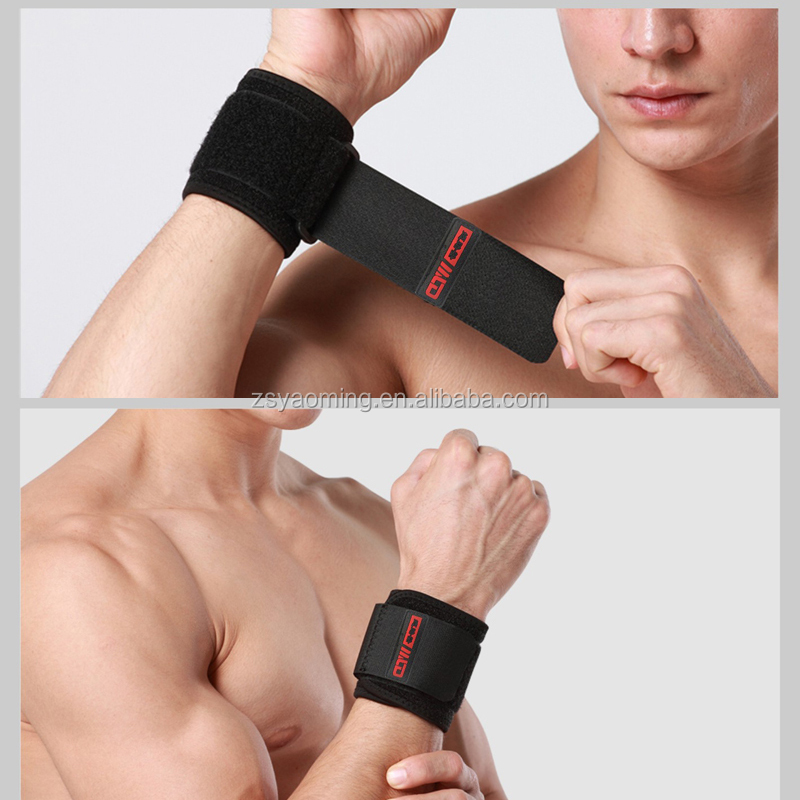 Wholesale gym exercise neoprene wrist brace/<strong>weight</strong> lifting wrist wraps