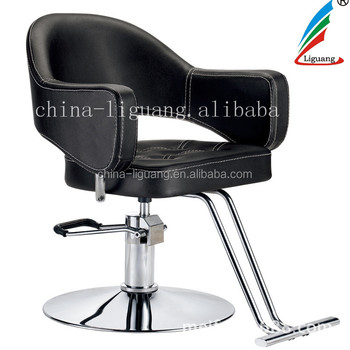 Fine New Fashion Beautiful Style Hair Cutting Chair Barber Chairs With Footrest For Sale In Liguang Buy New Design Beauty Furniture Hair Cutting Machost Co Dining Chair Design Ideas Machostcouk