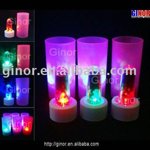 novelty items (led projector candle)