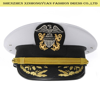 6a0c35b97bb White Sailor Navy Captain Hat For Army