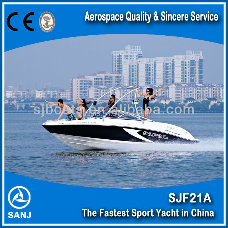 Competitive SJF21A High Speed Small Sport Yacht