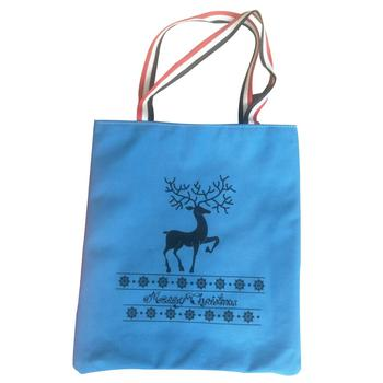 New design Flannelette Animal printing handbag