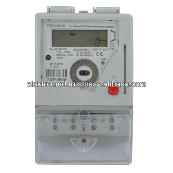 Prepaid Electric Meter With Vending Software