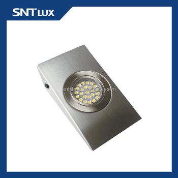 Sntlux 12v Led Under Cabinet Light-wedge Shaped Light With Switch ...