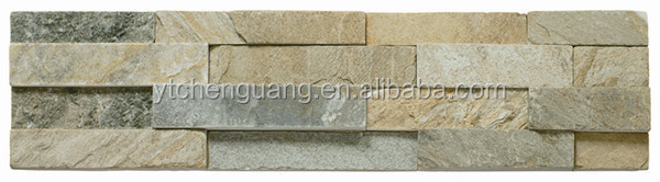 Beige Slate Culture Stone /decoration material for living room wall/natural Slate Wall Tiles floor tiles roof tiles