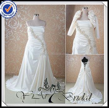 Rsw465 Bolero Jacket Champagne Colored Super Plus Size Wedding Dresses -  Buy Super Plus Size Wedding Dresses,Champagne Colored Wedding  Dresses,Bolero ...