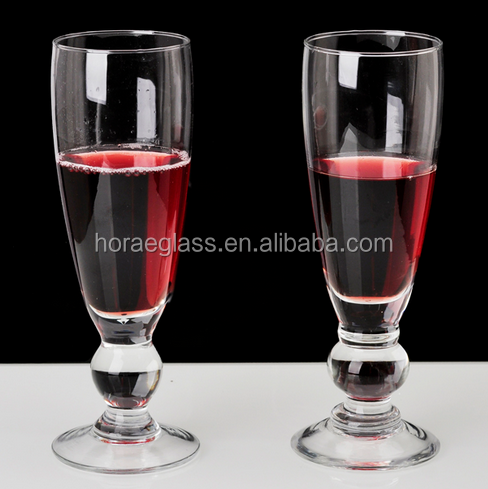 Good quality unique goblets crystal wine glass champagne glass factory